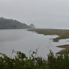 View of Stone Lagoon,Humboldt Lagoons State Park - Trinidad CA