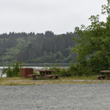 Parking and tables north of Stone Lagoon - Trinidad CA