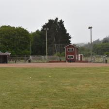 Baseball field, Firemen's Park - Ferndale CA
