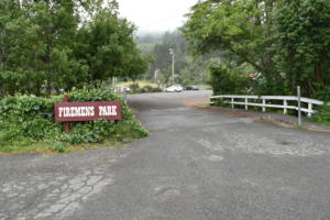Bridge over Francis Creek, Firemen's Park - Ferndale CA