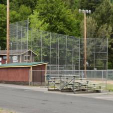 Dugout and club building, main baseball field,Rohner Park - Fortuna CA