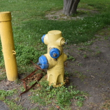 Fire hydrant,Rohner Park - Fortuna CA