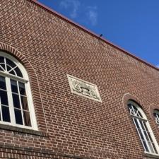 Details on Historic West Linn City Hall Facade