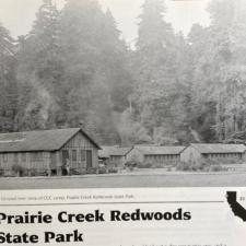 CCC barracks at Prairie Creek camp, Prairie Creek Redwoods State Park - Orick CA