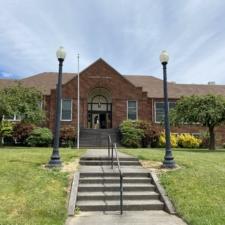 Main Entrance of Concord School - western elevation