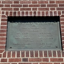 West Linn City Hall Plaque