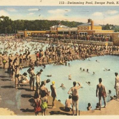 Swope Park Swimming Pool.