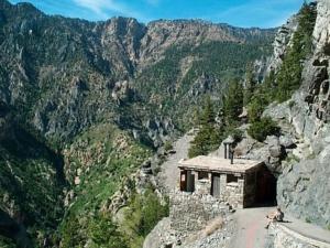 WPA built restroom onTimpanogos Cave trail - Mt Timpanogos UT