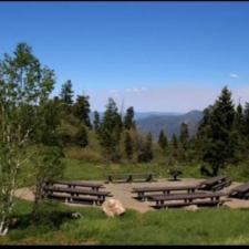 Blackhawk campground - Mt Nebo UT