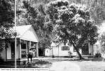 South Fork Ranger Station c 1940 - Mt Timpanogos UT