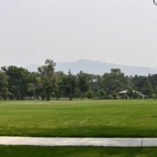 Looking east acrossFairmont Park - Salt Lake City UT