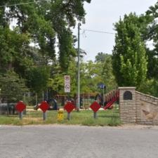Former Simpson Ave entrance gate,Fairmont Park - Salt Lake City UT