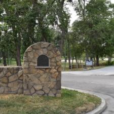 Entrance gate, east side of Fairmont Park - Salt Lake City UT
