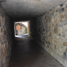 Backstage tunnel,Theater in the Pines at Aspen Grove - Mt Timpanogos UT