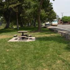 Stone wall along east sideof Fairmont Park - Salt Lake City UT
