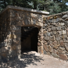 Entrance, stage left,Theater in the Pines at Aspen Grove - Mt Timpanogos UT