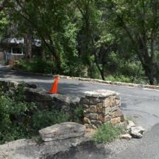 Stonebridge to headquarters building, Timpanogos Cave NM - Mt Timpanogos UT