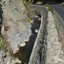 CCC retaining wall, Payson Canyon - Mt Nebo UT