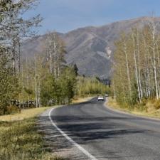 Mt. Nebo Loop Road, below Payson Lakes - Mt Nebo UT