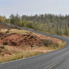 Mt. Nebo Loop Road, south of Payson Lakes - Mt Nebo UT