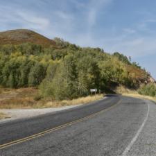 Mt. Nebo Loop Road, near Nebo Bench summit - Mt Nebo UT