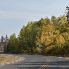 Mt. Nebo Loop Road, heading south toward Salt Creek - Mt Nebo UT