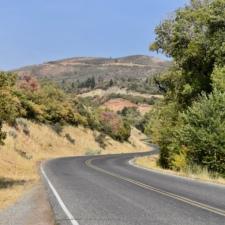 Mt. Nebo Loop Road, in Salt Creek Cyn - Mt Nebo UT