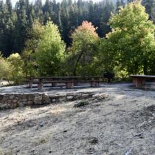 Campsite B,Bear Canyon campground - Mt Nebo UT
