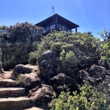Gardner fire tower - Mt Tamalpais CA