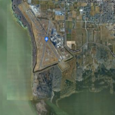 Satellite view of Provo airport (site of former CCC Camp F-40) - Provo UT