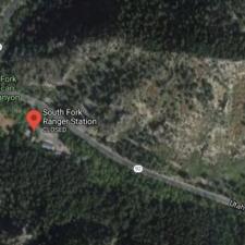 Satellite view ofSouth Fork Ranger Station - Mt Timpanogos UT