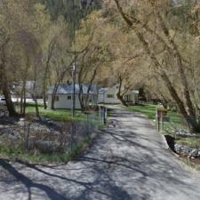 South Fork Ranger Station - Mt Timpanogos UT