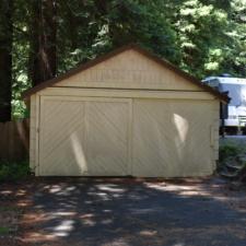 Garagebehind Burlington visitors' center -Humboldt Redwoods State Park CA