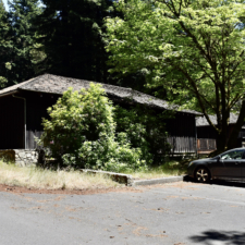 Probable Cal Dept of Highways building from the 1920s - Humboldt Redwoods State Park CA