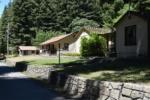 Residences behind Burlington visitors' center -Humboldt Redwoods State Park CA