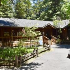 Burlington Visitors Center - Humboldt Redwoods State Park CA
