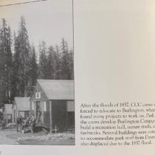 Cabins built by CCC at Burlington area - Humboldt Redwoods State Park CA