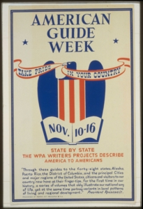 Poster for the American Guide Series