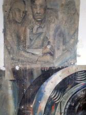 Remnants of the Skokie Mural today