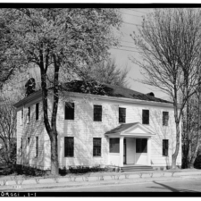 HABS Documentation of McLoughlin House