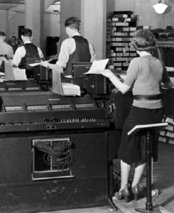 Workers at the Social Security Administration