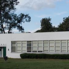 Former High School wing Durant Public School - Durant MS