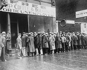 Soup kitchen, Chicago, 1931