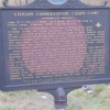 Historic marker for CCC Camp SP-3 in South Dakot